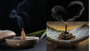 incense sticks or incense cones