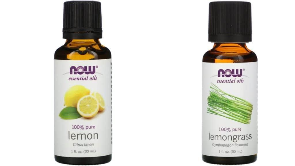 Lemon vs. Lemongrass Essential Oil