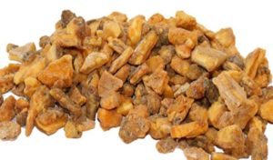 benzoin resin uses
