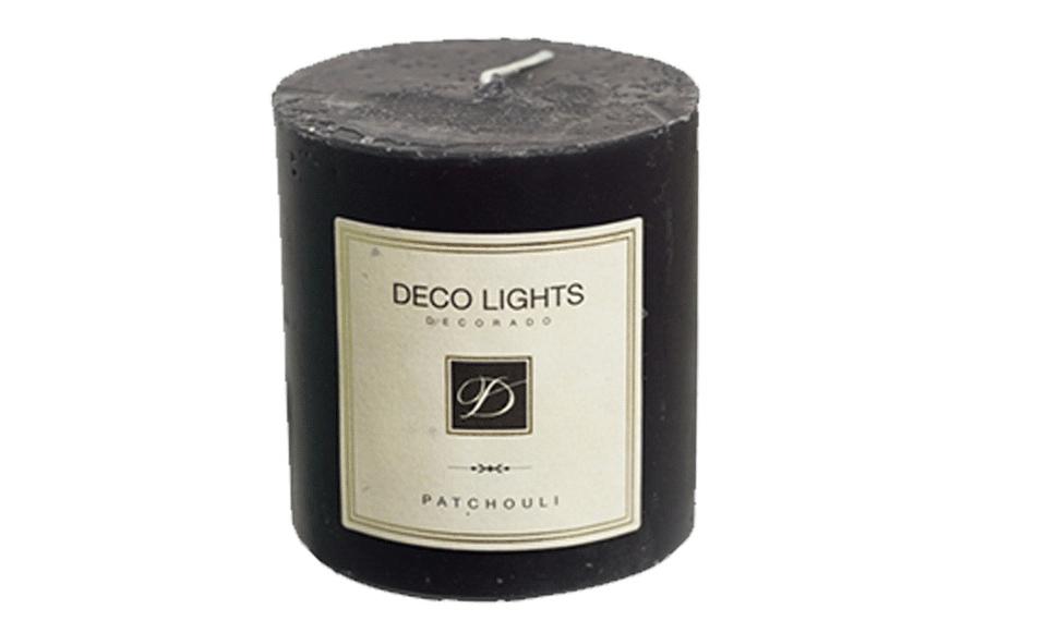 black patchouli candle